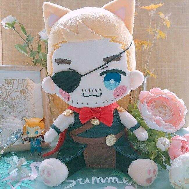 Marvel The Avengers Thor Loki Thorki Plush Cute Doll Stuffed Limited XMAS Gift