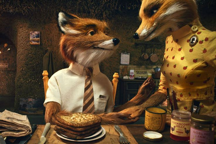 I have a thing for Fantastic Mr Fox, okay? Best thing in the world to watch when you're sick.
