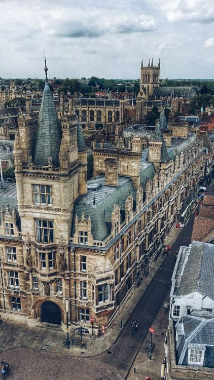 Gonville and Caius college, Cambridge, England.