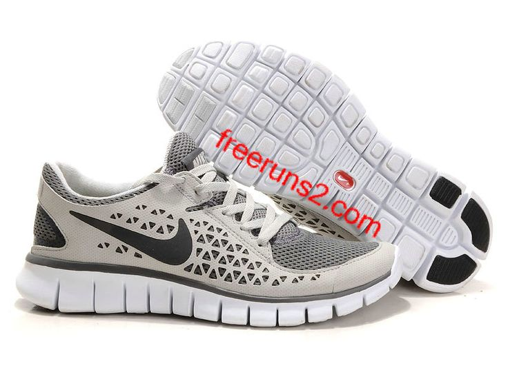 Nike Free Run 2 Roues Anthracite Junior