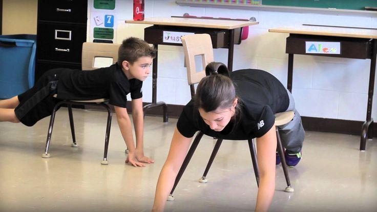 Bouge en classe avec Jeunes en santé #4