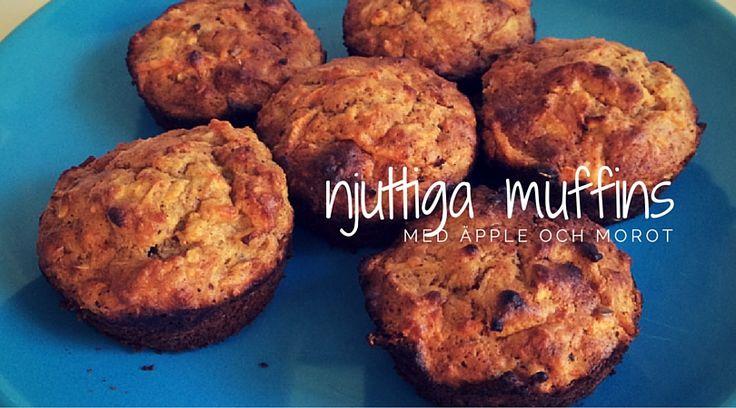 Blogg - Baka med barnen: Nyttiga muffins med äpple & morot