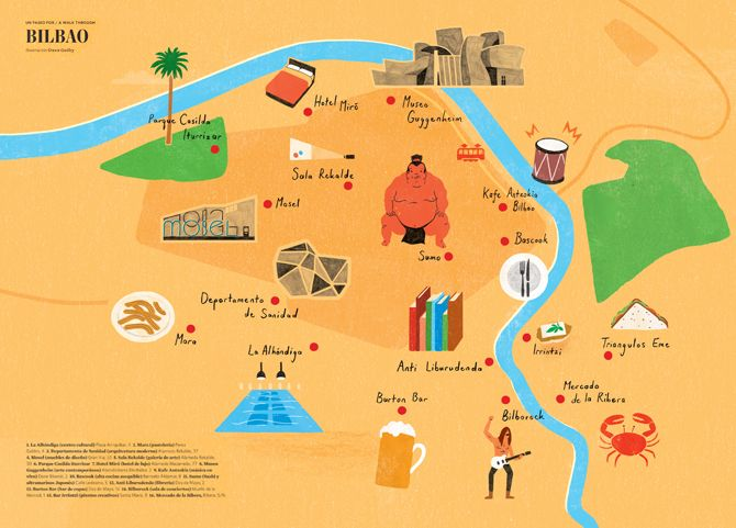 owen gatley map Bilbao