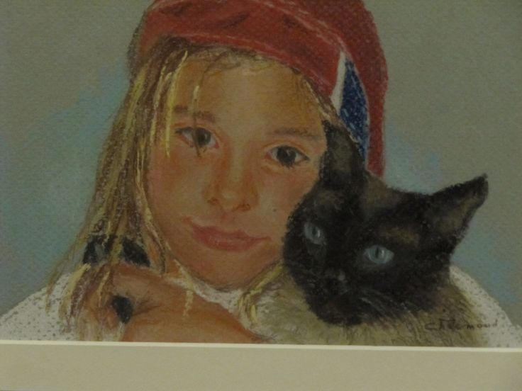 Any loved one you would like me to paint?  #portrait #festorativeportraits#pastel #pet #unique #family