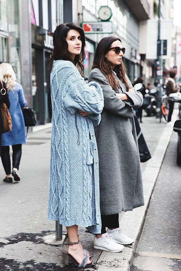 Домашнее в Европе и Америке улице избили твист толстый свитер вязаные пальто свободные большой размер женщин длинный участок с длинными рукавами кардиган осень и зима-Таобао глобальной вокзала