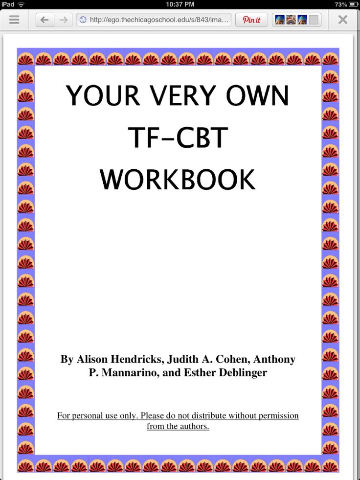 Link to: Trauma Focused Cognitive Behavioral Therapy tool. Very important to be trained in the model as well. http://ego.thechicagoschool.edu/s/843/images/editor_documents/childadolescent/TF-CBT%20workbook.pdf