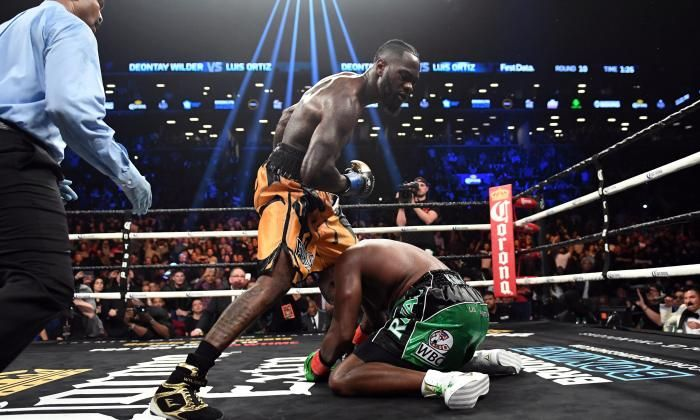 Boxing news: Deontay Wilder declares he is 'ready' for Anthony Joshua after surviving Luis Ortiz scare | Bible Of Sport