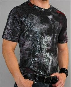 Affliction Clothing - Men's Eden Bamboo S/S Tee...
