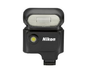 From the Manufacturer                      Shown on the Nikon 1 V1 (sold separately)  Throw light on your world  When you need more light, or are looking to add a creative touch to illumination, use the new Nikon 1 Speedlight. Plug this compact i-TTL compatible flash unit into the Nikon 1 V1 camera's multi-accessory hot shoe. Angle the flash up, down, left or right and bounce light to precise advantage. The flash can double as a continuous light source illuminating for six seco