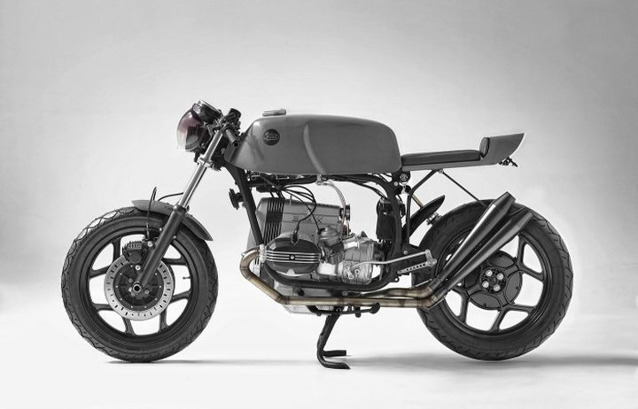 BMW R65 Cafe Racer by Fuel Motorcycles. Tremenda transformación #motorcycles #caferacer #motos | caferacerpasion.com