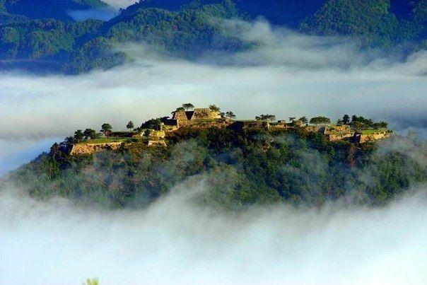 Такеда - замок, парящий в небесах - Путешествуем вместе