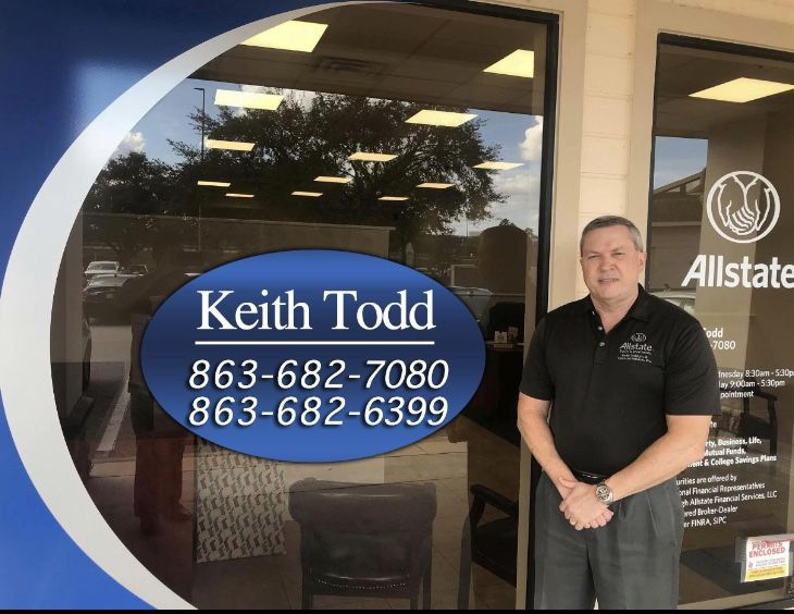 Give The Keith Todd Allstate Agency A Call In Lakeland Florida And