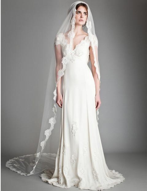 2013 Temperley London Robe de mariée sur http://www.espacemariage.com/
