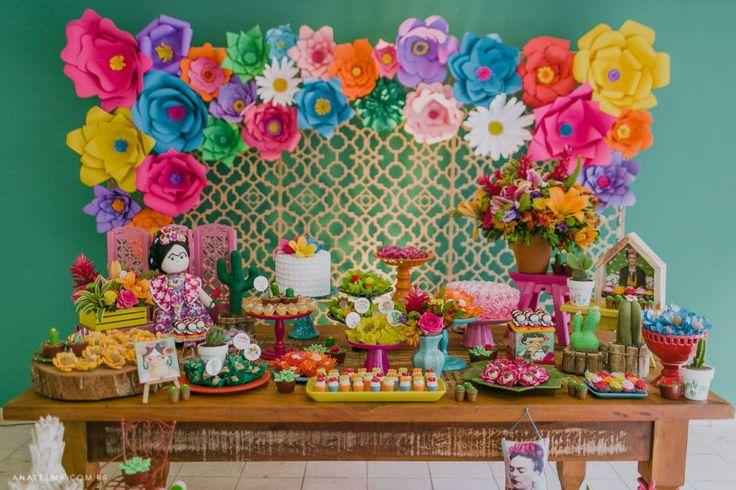 {Festa Infantil} – Frida Kahlo | Lápis de Mãe