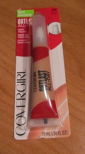 Cover Girl Medium Outlast All-Day Soft Touch Concealer #840 BNIP #CoverGirl #Concealer