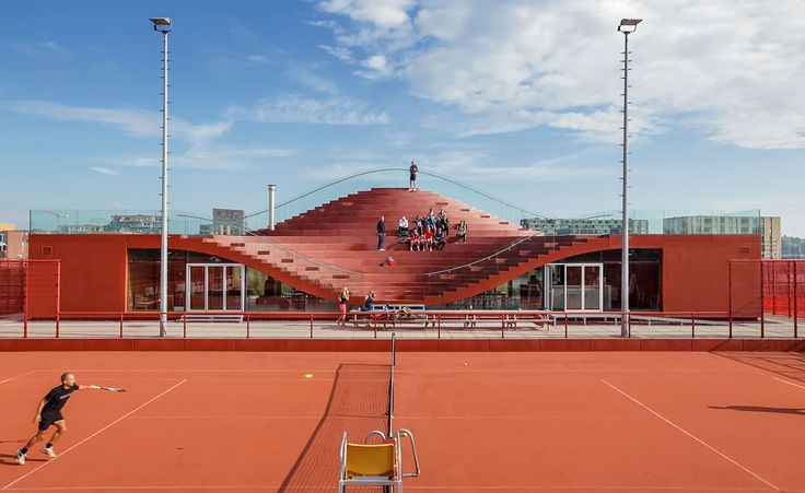 Grand slam: MVRDV design a tennis club in Amsterdam | Architecture | Wallpaper* Magazine