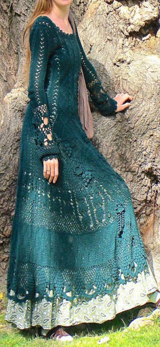 Gaultier maxi dress