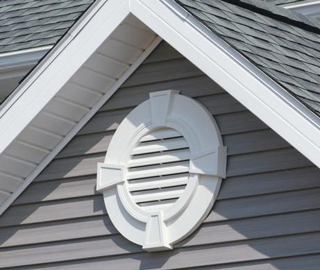 Gable Vents Allow Moist Warm Air From The Attic To Be