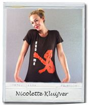 Nicolette Kluijver supports HUG ME for Monkey Business