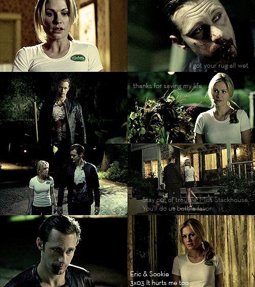Eric & Sookie (True Blood - Season 3) 3x03 It hurts me too