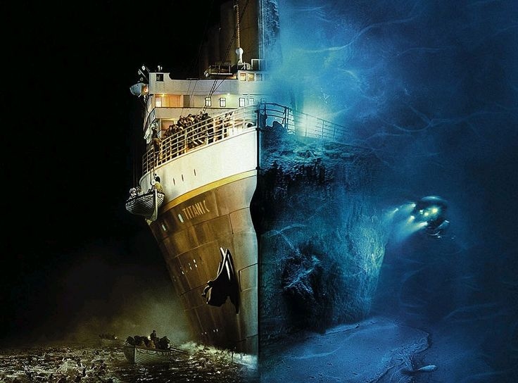 Titanic - 100  years later....: Then And Now, Awesome Pictures, The Ocean, Rms Titanic, Movie, Funny Photos, Beautiful Pictures, Photography, Earth Beautiful