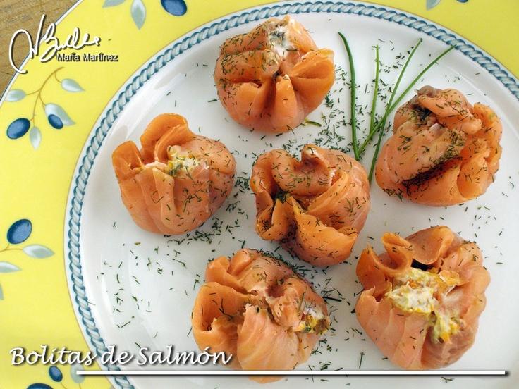 Bolitas de Salmon: Recetas Dukan (fase Ataque)
