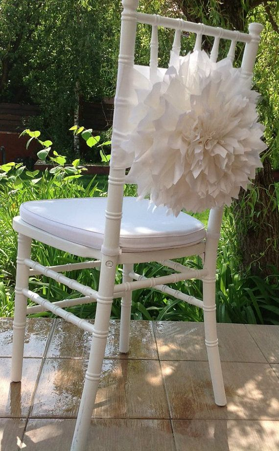 100 Wedding chair cover wedding chair sashfancy by FloraRosaDesign, Ft550000.00