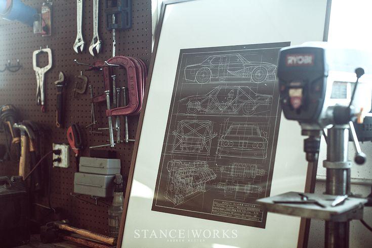 The 'Rusty Slammington' Art Print by Lowly Gentlemen - StanceWorks