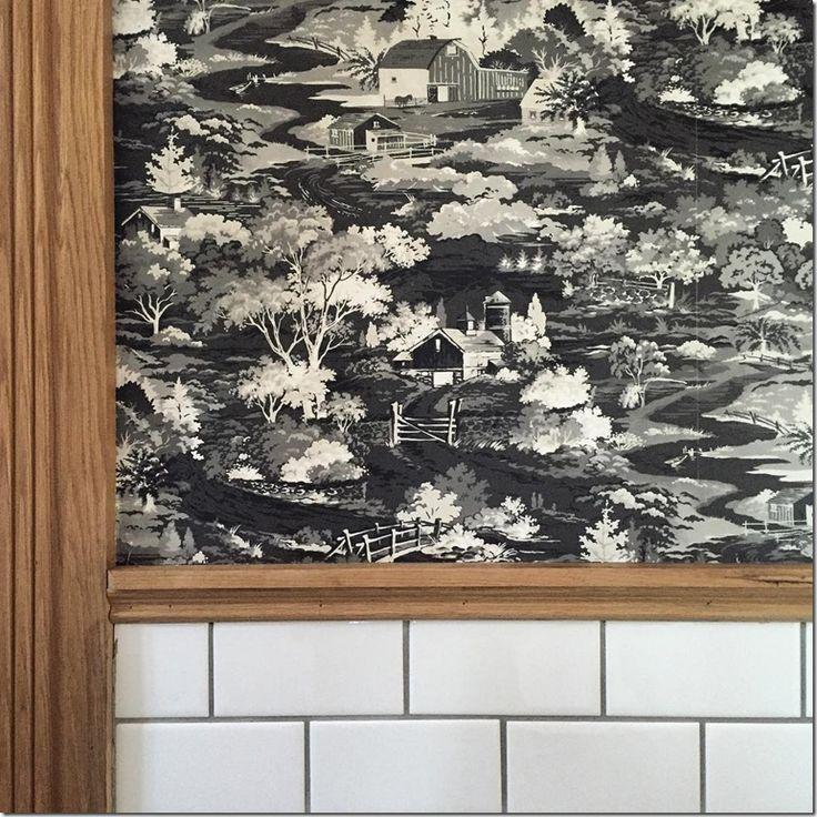 Hgtv Wallpaper: Plaid Wallpaper Fixer Upper