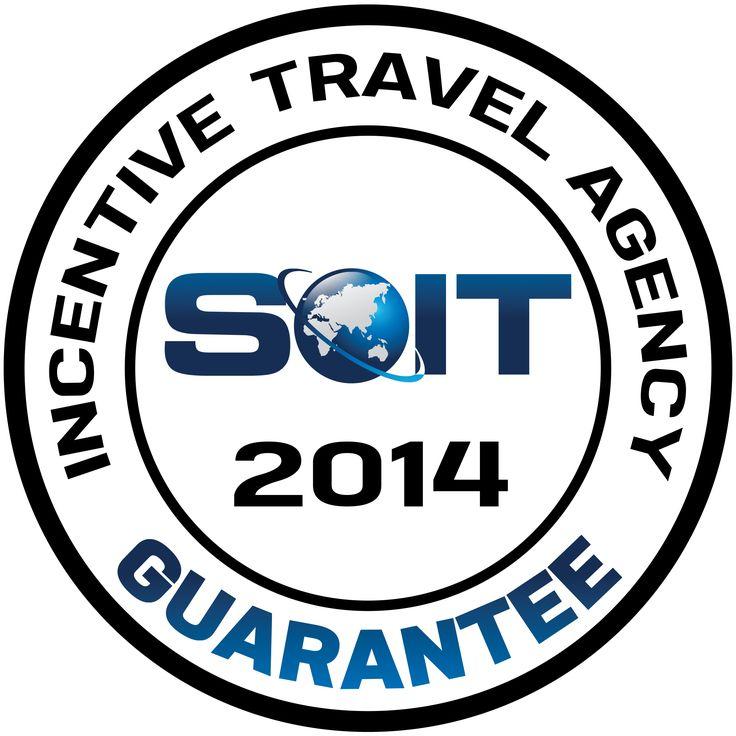 Nasza firma uczestniczy już kolejny rok w prowadzonym przez Stowarzyszenie Organizatorów Incentive Travel (SOIT) programie Incentive Travel Agency Guarantee. Jest to system dodatkowej weryfikacji wysokiego poziomu usług i jednocześnie gwarancja bezpieczeństwa współpracy z certyfikowanymi firmami, które po weryfikacji mogą posługiwać się tytułem Gwarantowanego Organizatora.