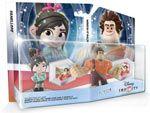 Espandi la tua scatola dei giocattoli di Disney Infinity con il TOY BOX pack di Ralph Spaccatutto. La confezione contiene le Action Figures di Ralph Spaccatutto e Vannelope Von Schweetz e due gettoni che ti permetteranno di trasformare la tua scatola dei giochi nel mondo di Ralph Spaccatutto! #DisneyInfinity #Disney #RalphSpaccaTutto