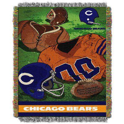 Northwest Co. NFL Bears Vintage Tapestry Throw