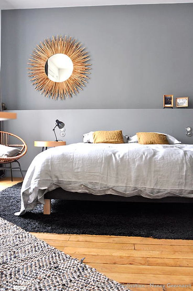 1000 id es sur le th me tableau gris sur pinterest table for Decoration maison chambre