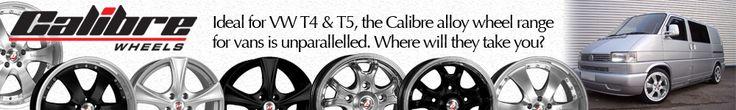 Sage advice on choosing alloy wheels for your Volkswagen T4 van - featured on myT4van