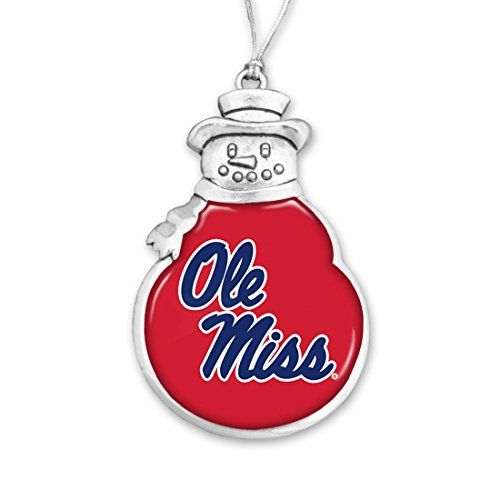 Ole Miss Rebels Snowman Christmas Ornament Sports Team Ac... https://www.amazon.com/dp/B01N8SXIWL/ref=cm_sw_r_pi_dp_x_CJmmybQD0JKWA