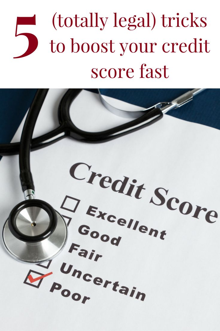how to build your credit score up fast