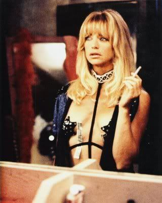 Goldie Hawn: Caught smoking