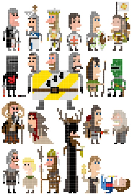 Monty Python and the Holy Grail. So many possibilities...