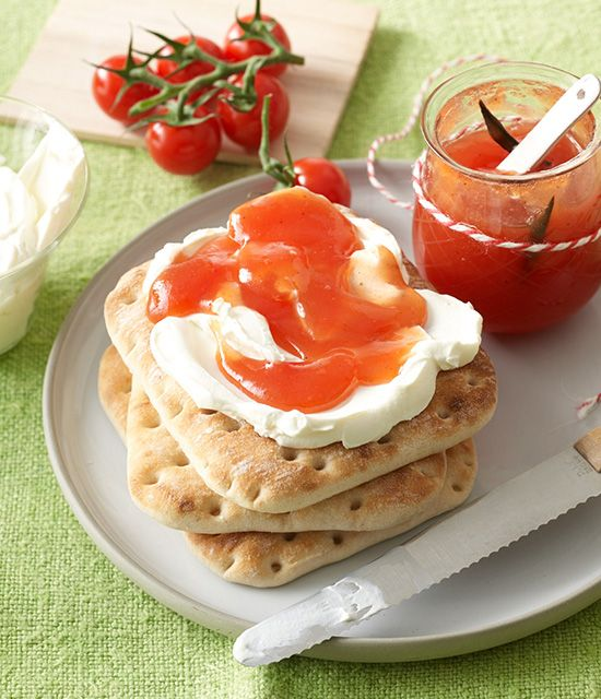 Süße Kirschtomaten-Marmelade - Harry Brot