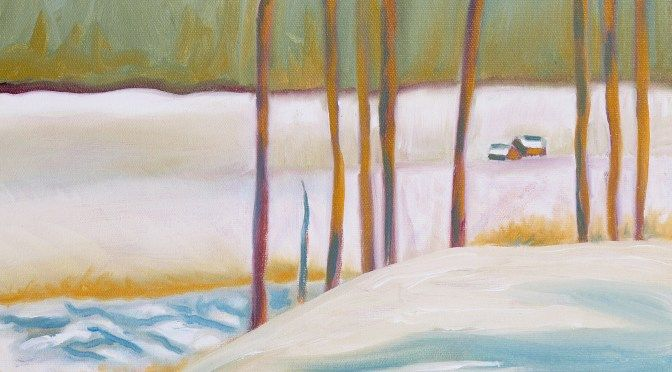 Oil on Canvas  14 x 18