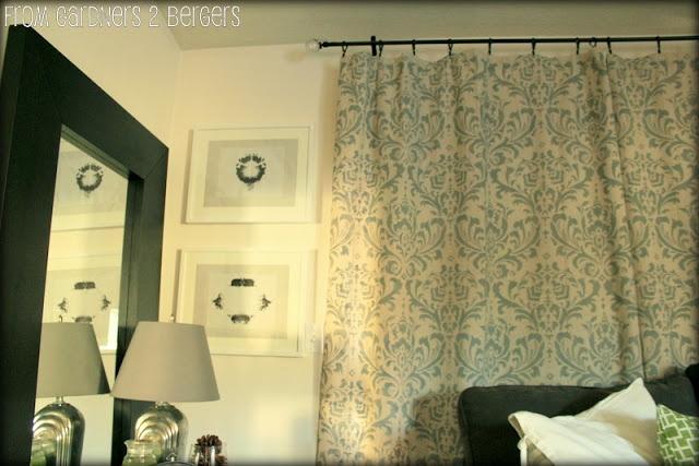 Diy Curtain Rods Sliding Glass Door Amp Bay Window Cheap