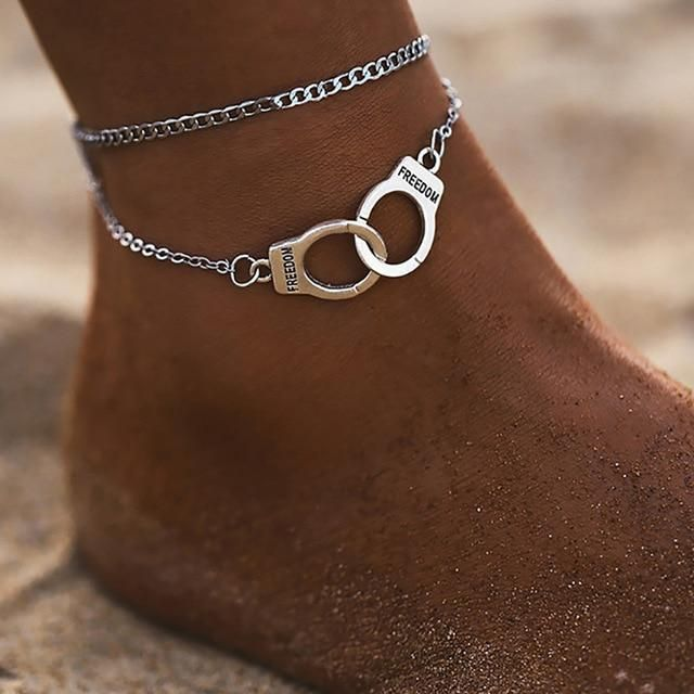 Women/'s Boho Multi-layer Ankle Bracelet Anklet Foot Summer Beach Sandal Holiday
