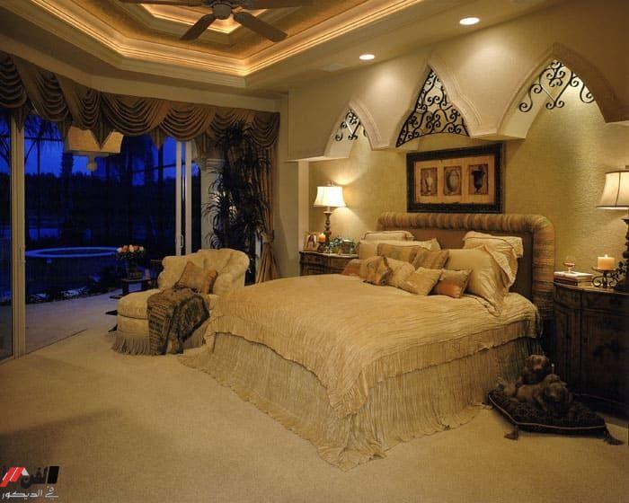 ديكورات غرف نوم للعرسان رومنسيه وافكار تزيين الغرفة Luxurious Bedrooms Traditional Bedroom Modern Bedroom