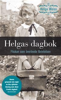 https://www.adlibris.com/se/organisationer/product.aspx?isbn=9175451476   Titel: Helgas dagbok : flickan som överlevde förintelsen - Författare: Helga Weiss - ISBN: 9175451476 - Pris: 49 kr