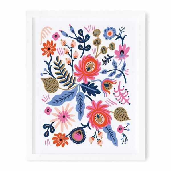Russian Folk Print 8x10 Art Print