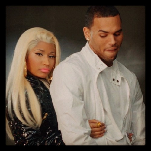 """Chris Brown looks so sexy in Nicki Minaj video """"Right By My Side."""" I am looking forward to #Fortune being release on July 3, 2012 #BreezyIndependenceDay"""