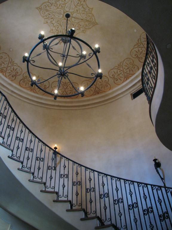 Murals for Stairwells | Stairwell Glazing with Art Motif ...