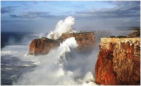 Cabo de São Vicente [Parque Natural do Sudoeste Alentejano e Costa Vicentina] – Vila do Bispo, Algarve (Portugal).