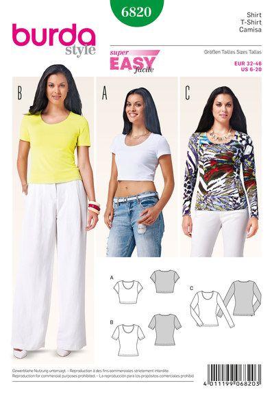 Bluse/skjorte, korte ærmer, lange ærmer