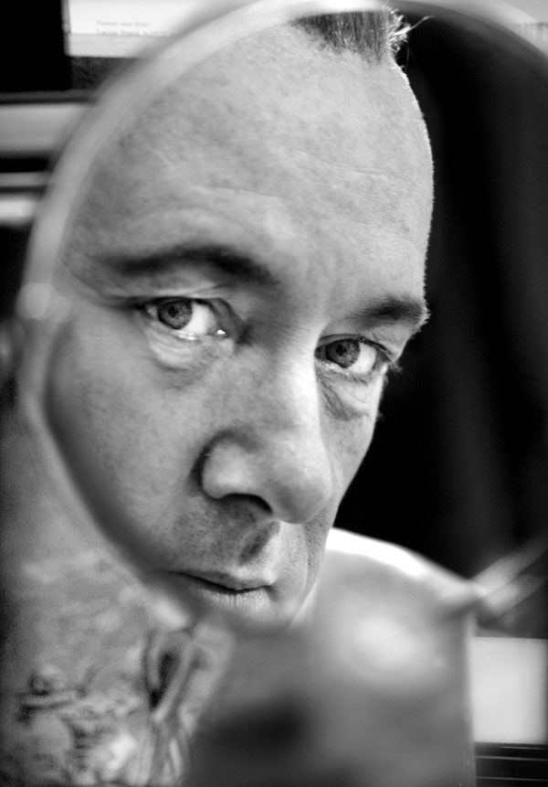 Kevin Spacey / photos by Simon Annand